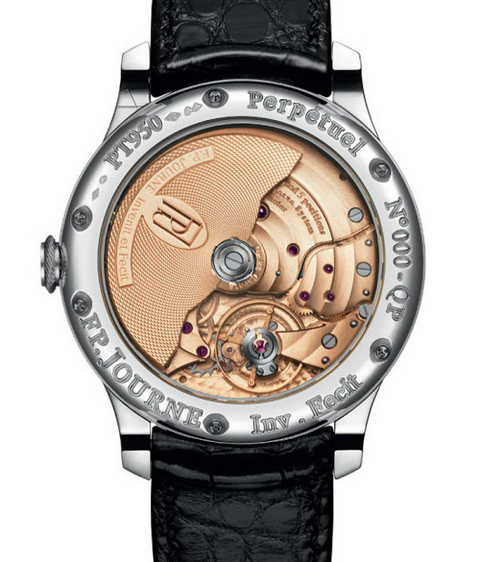 F.P. Journe Quantieme Perpetuel Watch with 22ct Gold Rotor
