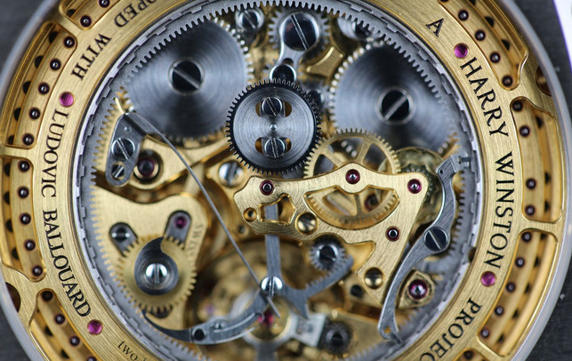The incredible Ludovic Ballouard movement of the Harry Winston Opus X111