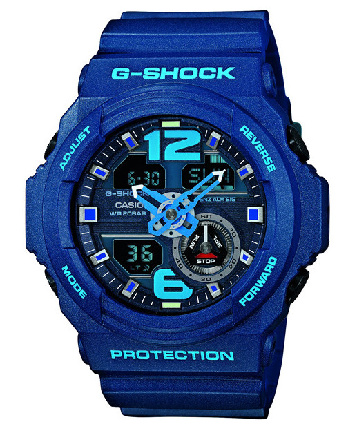 The Casio GA-310 - still G-Shock, but better access to controls.