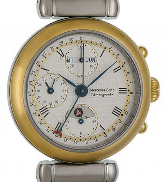Interesting Mercedes Chronograph Triple Date Calendar