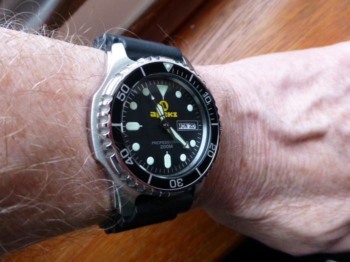 Apeks Dive Watch 200M Professional AP0406