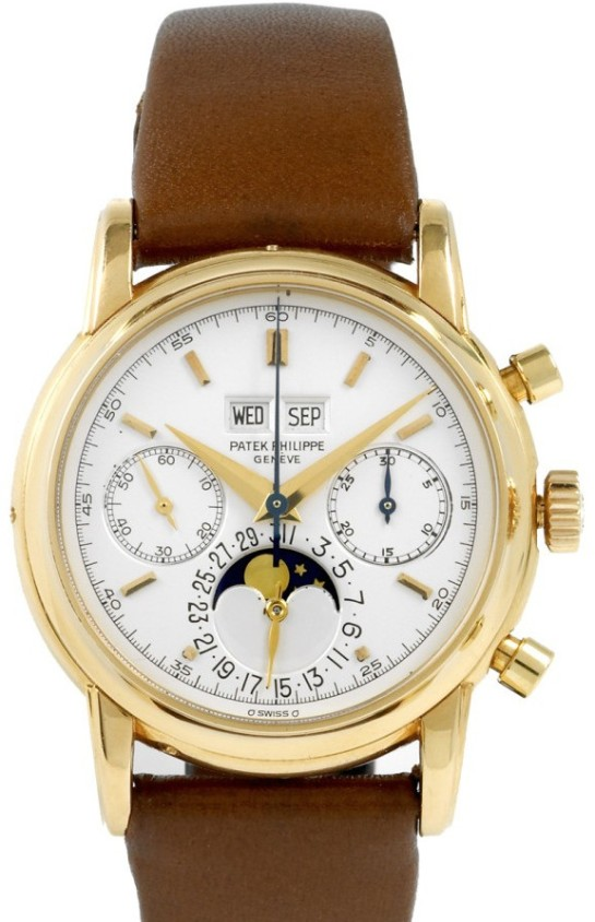 Wonderful Patek Philippe 2499 Triple Date Perpetual Calendar
