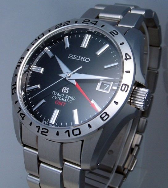 The Seiko GS in stainless steel