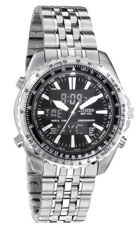 Citizen JQ8250-52E World Time (Wingman)