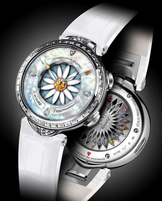 "Christophe Claret Margot ""He love me, he loves me not"""