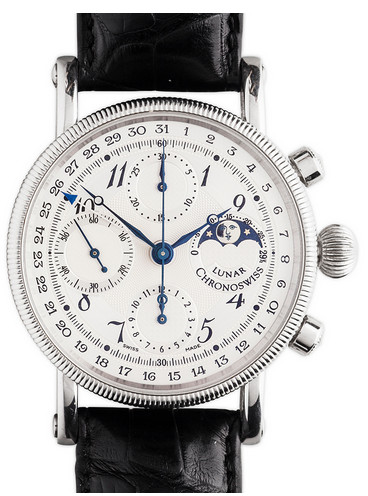 Chronoswiss Grand Lunar Chronograph Gents in Stainless Steel