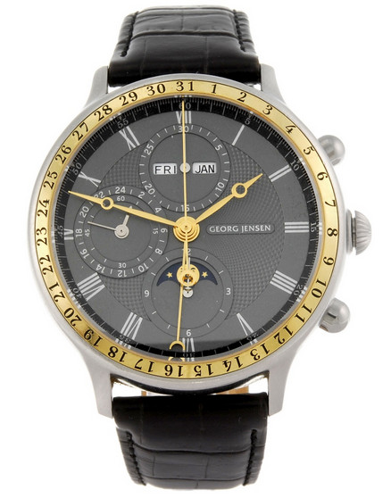 George Jenson Model 382 Chronograph with ETA 7751 automatic movement.