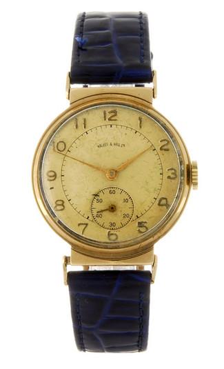 Walker & Hall Gents 9ct dress watch - 1937?