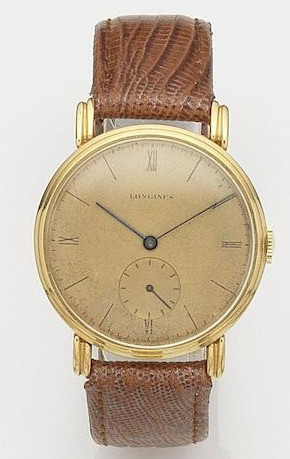1940's 18k gold manual from Longines.