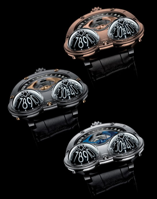 "A dream perhaps - what I call the ""domes"" - The Horological Machine No3 Frog"