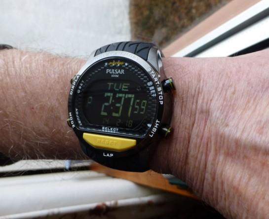 Pulsar on smallish 170mm wrist