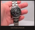 Casio Oceanus Manta RC state of the art in 2009