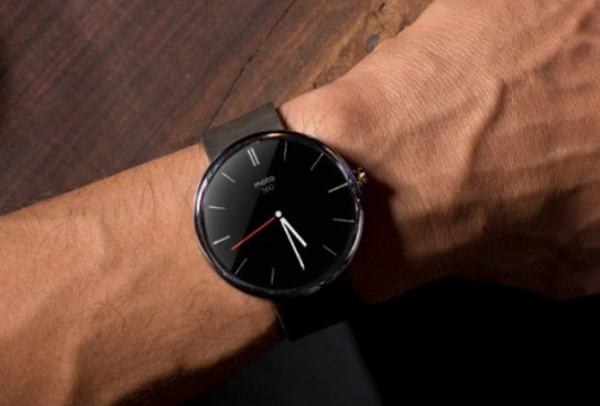 The new Moto G smart watch - coming soon!