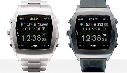 Smart watches from Citizen!