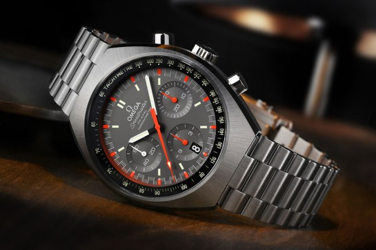 2014 Omega Speedmaster Mk11 - brilliant revamp of the original 1969 model