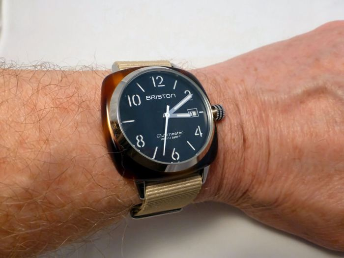 Briston fits my wrist to perfection - and looks great!