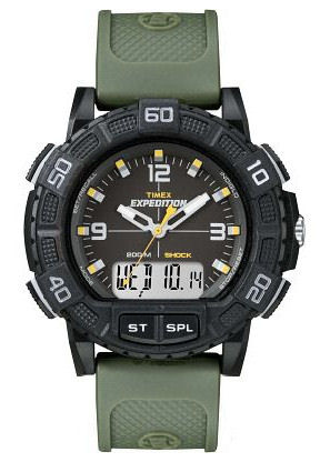 Timex T49967 Expedition Alarm Chronograph