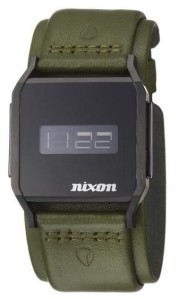 The Nixon Atom in green