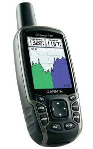 Garmin hand held color screen data