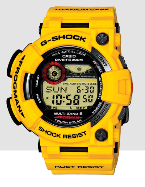 Casio 30th Anniversary G Shock Divers FROGMAN
