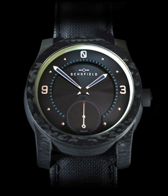 Blacklamp Carbon Schofield - Made in England.