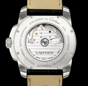 Cartier W7100039 view of the Calibre 1904MC.