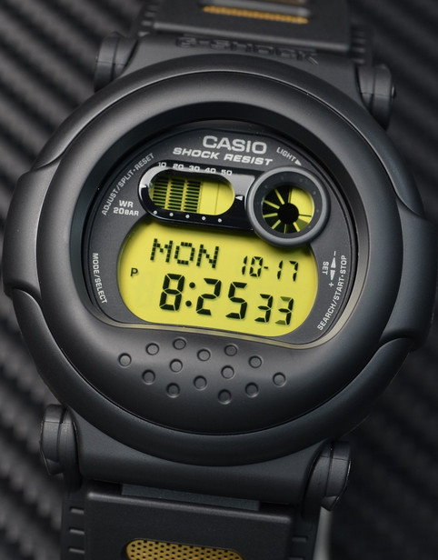 Casio Jason g-001 - a smoother G-Shock