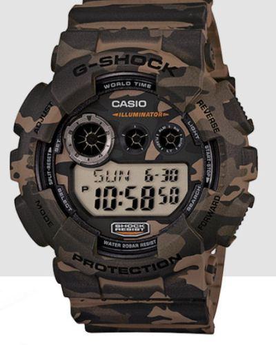 Casio120CM-5 Camo Digital only