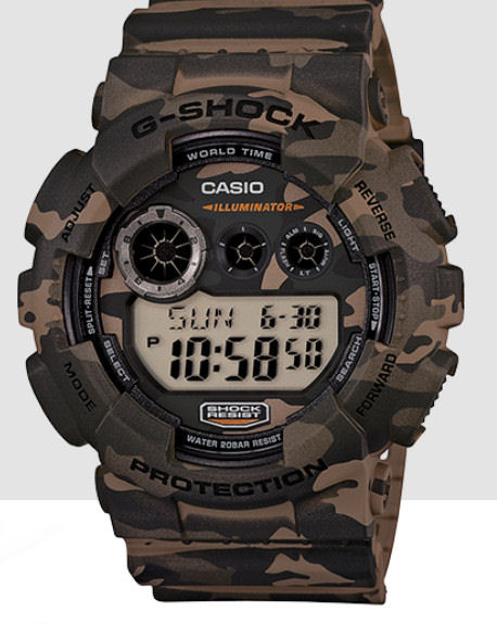 Casio DG 120CM-5 Camo Digital only - but is BIG