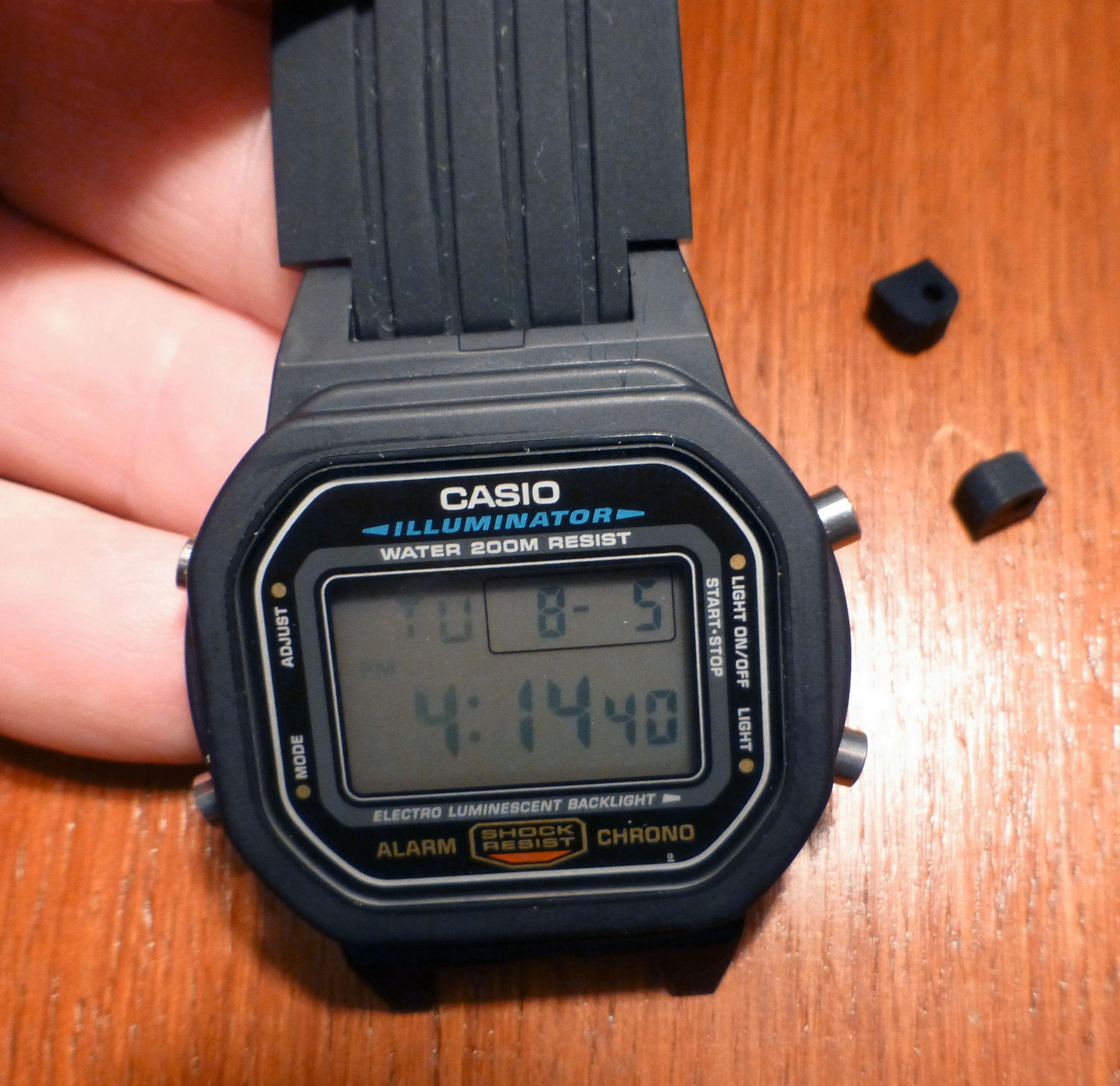 Casio Dw5600e Watch Space