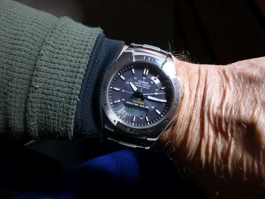 My own Casio WVA470 on my wrist as I post.
