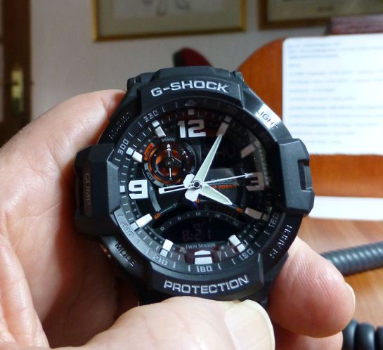 Casio GW-1000-AER with Digital Compass