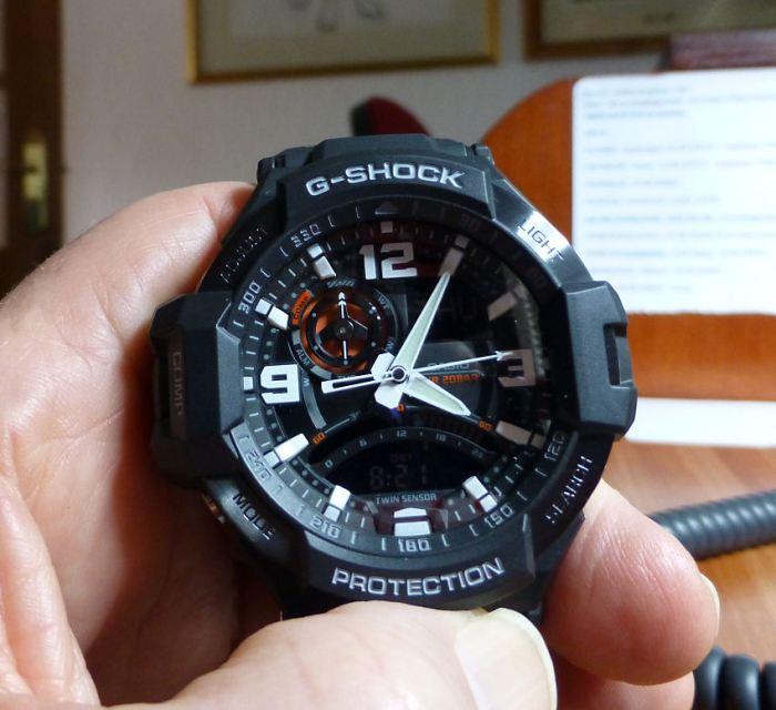 Casio GW-1000-AER with Digital Compass