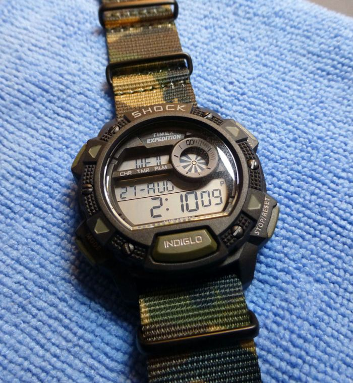My choice - Timex Expedition T49976 (with NATO)