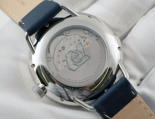 Exhibition back view of the Miyota 9015 Automatic