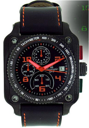 Aeromatic Cubic Chrono 310A  Quartz