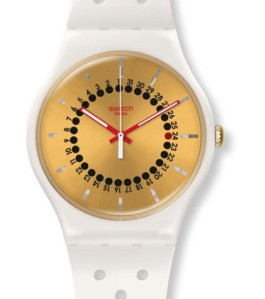 "Swatch ""Generation 31"" with Date indicator. Model SUOW400"