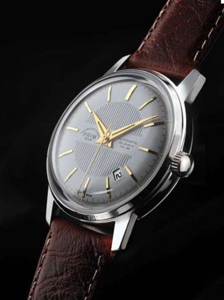 The Prim Elegant 39C - Silver Dial Date Watch