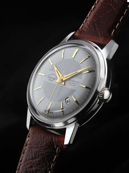 The Prim Elegant 39C - Silver Dial Date Watch
