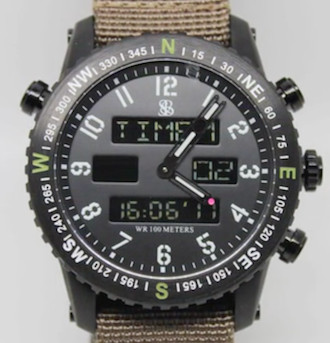 "Smith & Bradley ""Ambush"" watch"