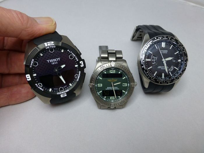 """Now - does the Tissot T-touch warrant a """"favorite"""" title - well maybe time will tell . . ."""