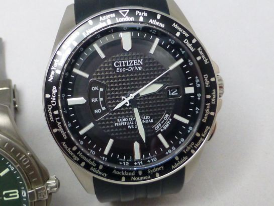 The Citizen AT World Time - the very best for traveling.