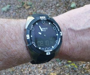 Outdoor wrist shot - no studio here, but as it is.