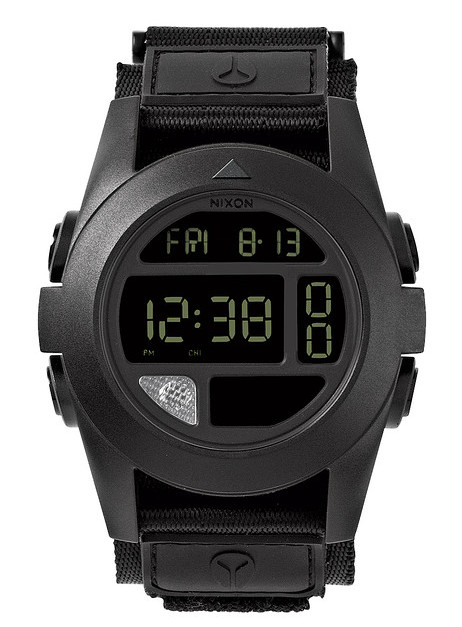 Nixon Bah - Torch & Compass with velcro fast wrap strap