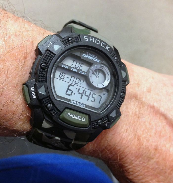 Timex Expedition T49976 camouflage digital Alarm