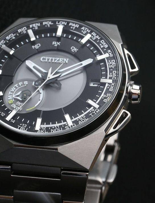 Citizen Satellite Wave F100 Model: CC2006-61E