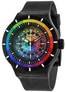 "Swatch SUUB401 ""Chromatic Water"" model"