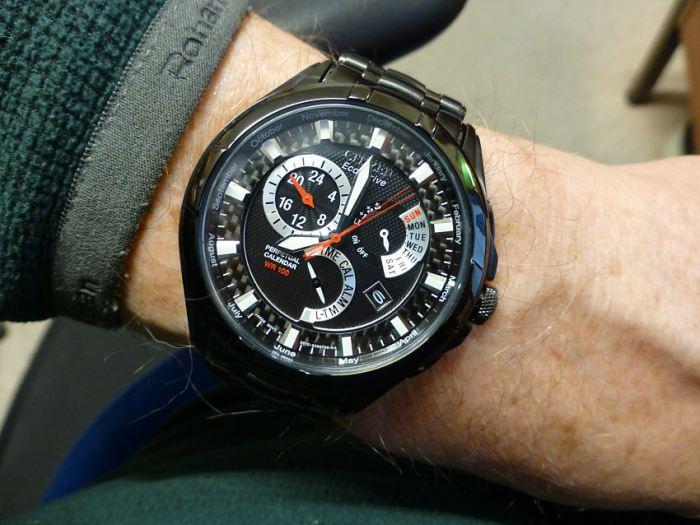 Citizen BL8097-52E on the wrist