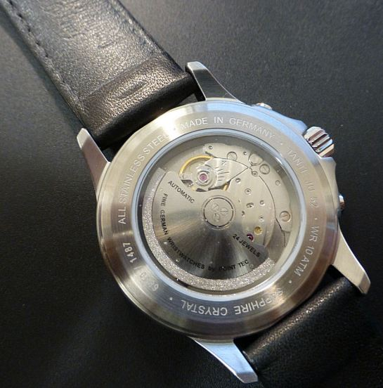 Junkers J52 Automatic 24 jewel movement