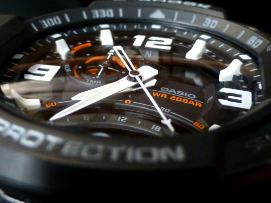 Multi-layered dial construction is the key to clarity.